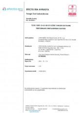 Rapport de réaction au feu du panneau E60 laine de roche Panel 100mm