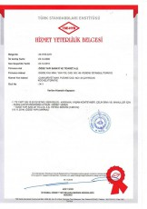 Certificat de compétence de service