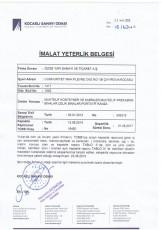 Certificat de capacité de production