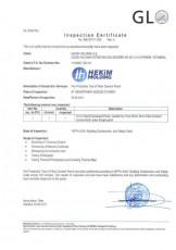 Certificat NFPA 5000