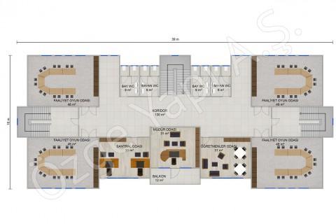 Ecole Maternelle 1166 m2 - 1er étage
