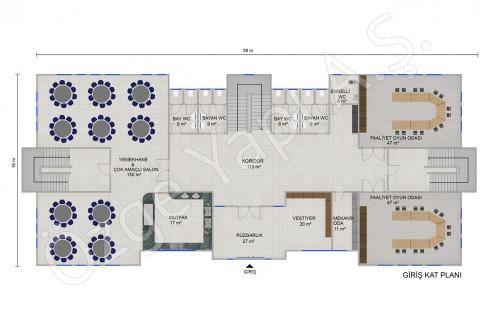 Ecole Maternelle 1166 m2 - Rez-de-chaussée