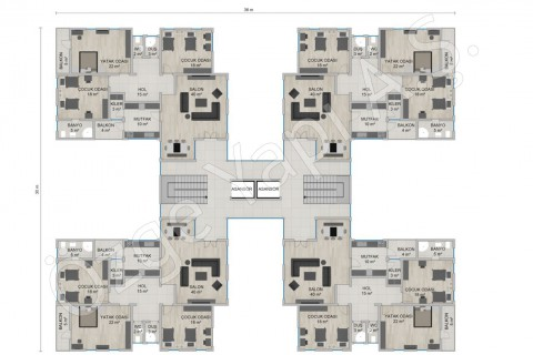 Appartement 4668 m2- 1er étage