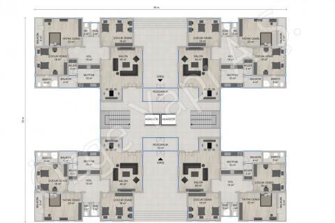 Appartement 4668 m2 - Rez-de-chaussée