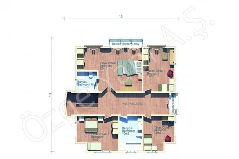 Villa Avec Architecture Arabe - 1er étage
