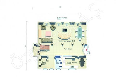 Villa Avec Architecture Arabe - Rez-de-chaussée