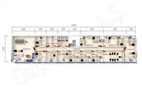 BKO 273 m2 - 1er étage