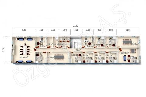 BKO 273 m2 - 2ième étage