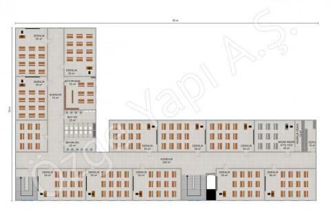 Ecole primaire 2388 m2 - 1. et 2ième étage