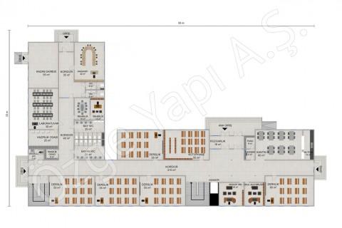 Ecole primaire 2388 m2 - Rez-de-chaussée