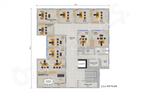 Office 697 m2 - 2. 3. et 4ième étage