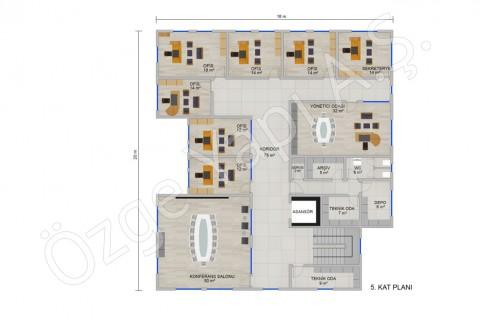Office 697 m2 - 5ième étage