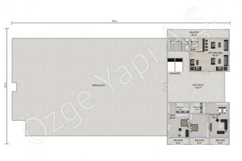 Hôtel 8115 m2 - 3ième étage