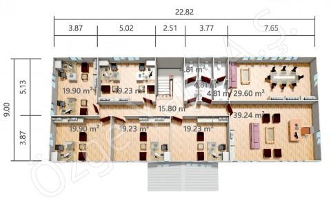PRO 415 m2 - 1er étage