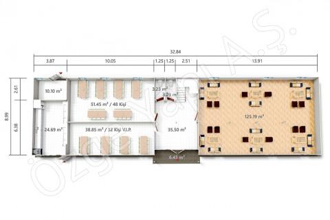 PRST 598 m2 - Rez-de-chaussée
