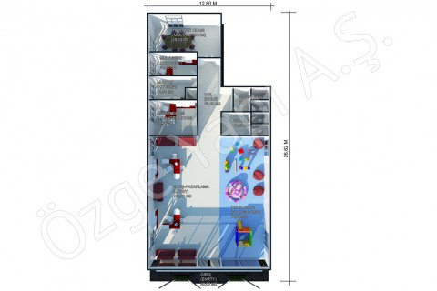 Bureaux De Vente 302 m2