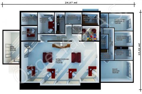 Bureaux De Vente 318 m2