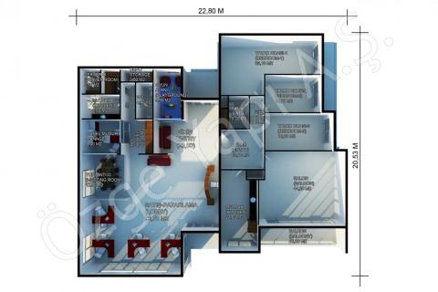 Bureaux De Vente 378 m2