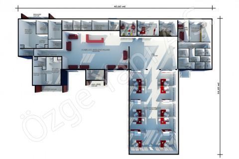 Bureaux De Vente 645 m2