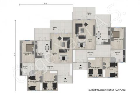 Maisons Jumelles à Un Seul étage