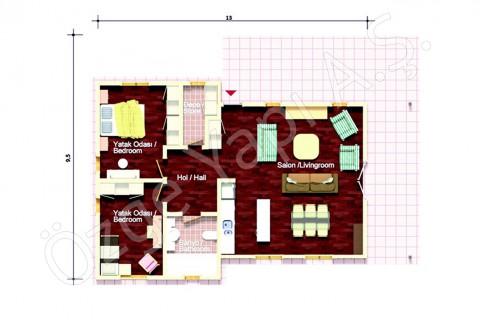 Villa à un étage
