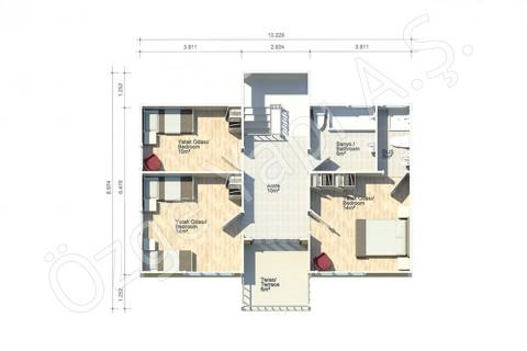 Villa Avec Architecture Turque - 1er étage