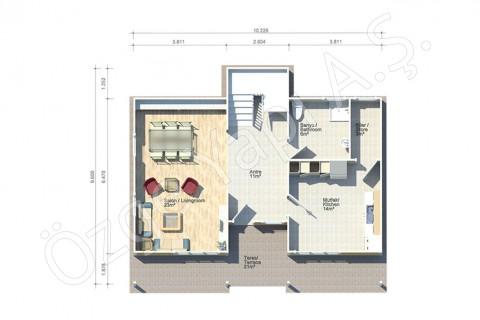 Villa Avec Architecture Turque - Rez-de-chaussée