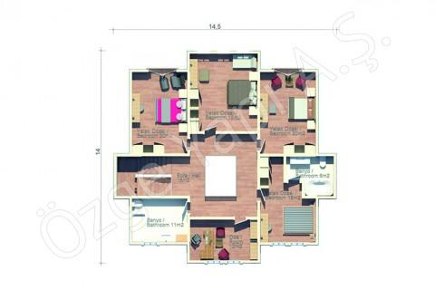 Villa au bord de mer - 1er étage