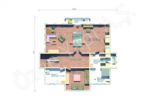 Villa au bord de mer - 2ième étage
