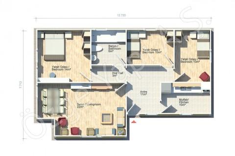 Azalée 88 m2
