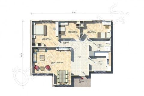 Acacia 95 m2