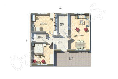 Bégonia 92 m2