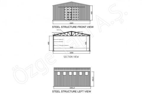 Structure Métallique 100 m2