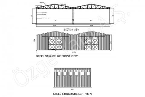 Structure Métallique 200 m2