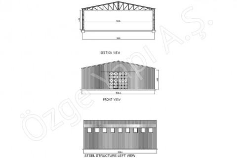 Structure Métallique 225 m2
