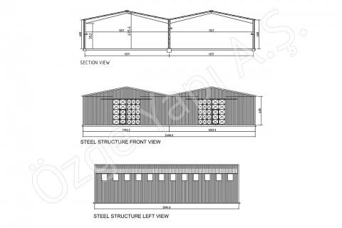 Structure Métallique 500 m2