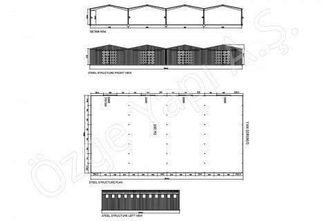 Structure Métallique 800 m2