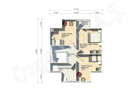 Arbre de Judée 124 m2 - 1er étage