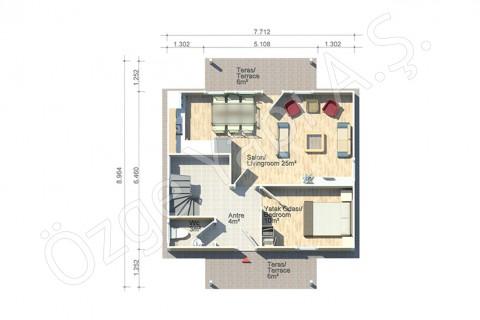 Arbre de Judée 124 m2 - Rez-de-chaussée
