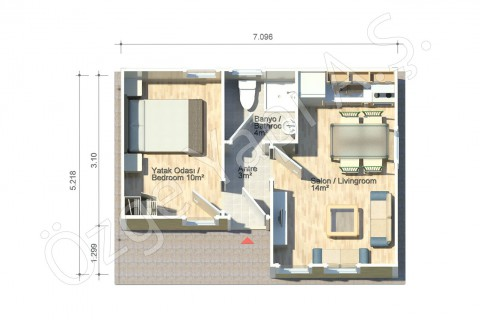 Jonquille 37 m2