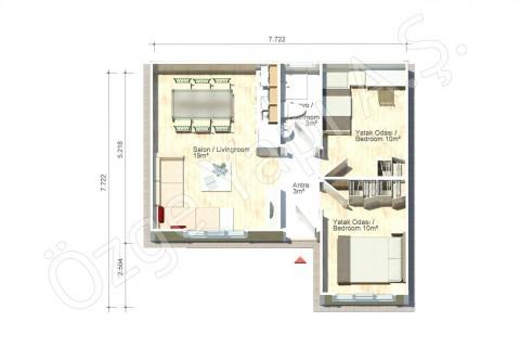 Gardénia 47 m2