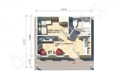Coquelicot 27 m2