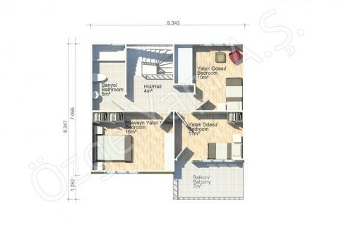 Lilium 136 m2 - 1er étage