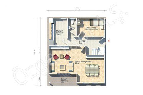 Margeurite 140 m2 - Rez-de-chaussée