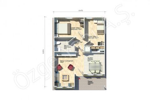 Pétunia 58 m2