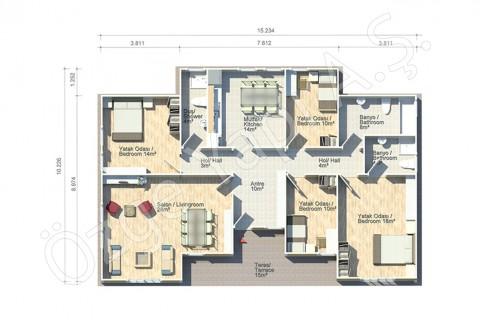 Géranium 138 m2