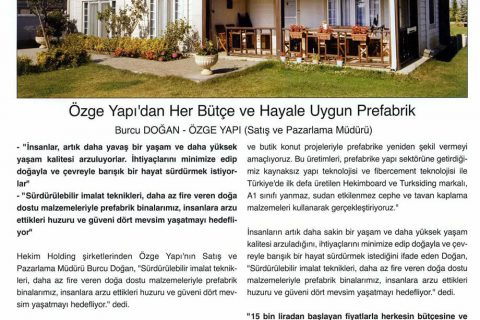 Pencere Cephe Journal