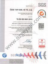 Certificat du Système de Gestion de la Qualité