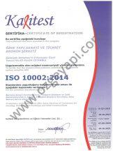 Certificat du Système de Gestion de la Satisfaction Clientèle